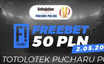 Freebet 50 PLN na finał Pucharu Polski 2019!