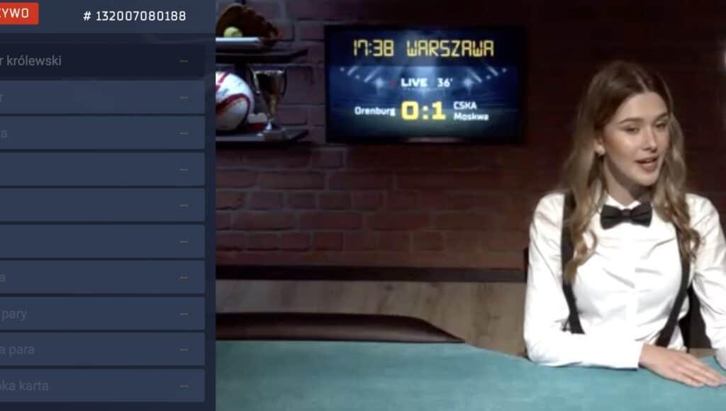 Poker polski stół w STS Betgames. Jak grać z polskimi krupierami?
